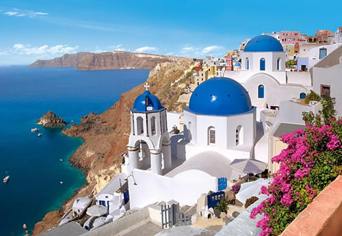 Blue - Romantic, passionate, charming Aegean islands